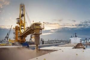 Перевалка зерна, перевалки грузов в морских портах Украины